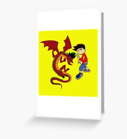 jake long Greeting Card