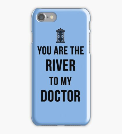 River+Doctor iPhone Case/Skin
