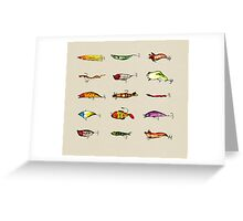 Lures Greeting Card
