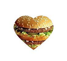 BigMac Luvvin' Photographic Print