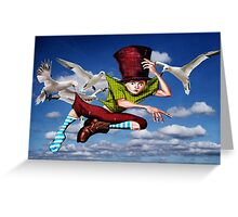Airmail Graffiti - Coming to a wall near you Greeting Card