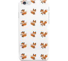 Tiny fox print iPhone Case/Skin