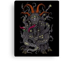 Black Goat of the Woods Canvas Print