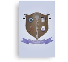 Spoonie Coat of Arms Canvas Print