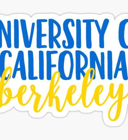 University of California - Berkeley Sticker