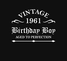 Vintage 1961 Birthday Boy Aged To Perfection Unisex T-Shirt