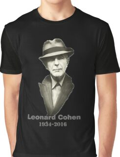leonard cohen RIP Graphic T-Shirt