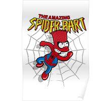 Spiderbart: Bart Simpson as Spider-man Poster