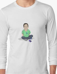 Young Jimmy Fallon Long Sleeve T-Shirt
