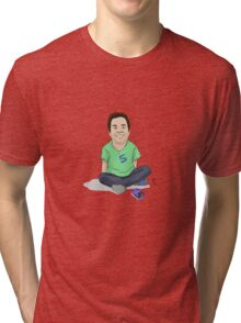 Young Jimmy Fallon Tri-blend T-Shirt