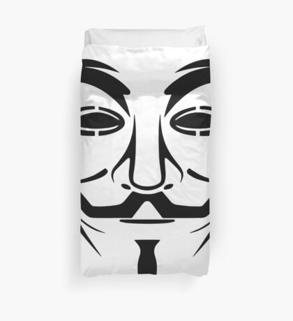 Remain Anonymous Duvet Cover