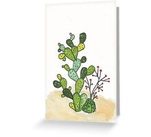 Cactus vibes  Greeting Card