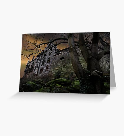 Once upon a midnight dreary... Greeting Card