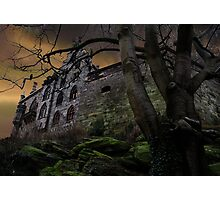 Once upon a midnight dreary... Photographic Print