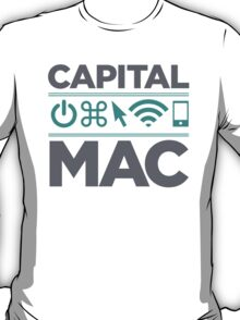 Official Capital Mac Service of the Capital District T-Shirt T-Shirt