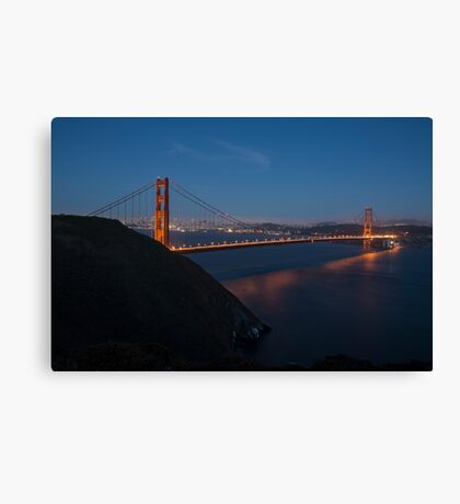 Golden Gate Bridge, San Francisco California Canvas Print