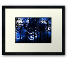 It's in the Trees! Framed Print