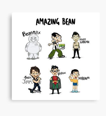 Amazing Bean Canvas Print