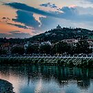 Hillside above Verona, Italy by L Lee McIntyre