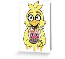 *NEW* Chica Greeting Card