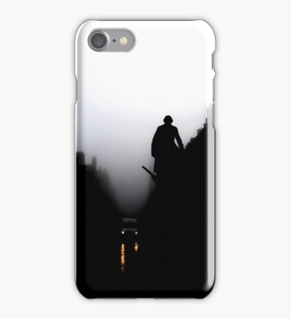 Emerging from the gloom iPhone Case/Skin