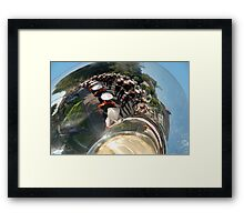 Reflections of a brass band Framed Print