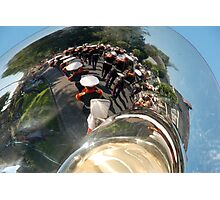 Reflections of a brass band Photographic Print