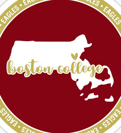 Boston College - Style 15 Sticker