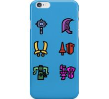 Monster Hunter Weapon Icons iPhone Case/Skin