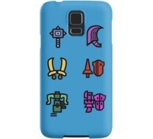 Monster Hunter Weapon Icons Samsung Galaxy Case/Skin