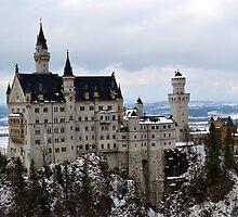 Neuschwanstein Castle by LittleMissEme