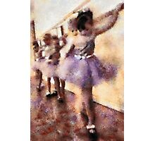 Childhood Memories: The Practice for Recital Photographic Print