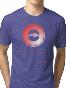 Red Pokeball Symbol Tri-blend T-Shirt