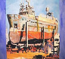 Icelandic Dry Docks by trand07