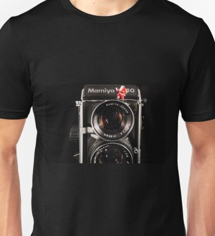 Twin Lens Xmas  Unisex T-Shirt
