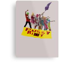 PUSSY RIOT Metal Print