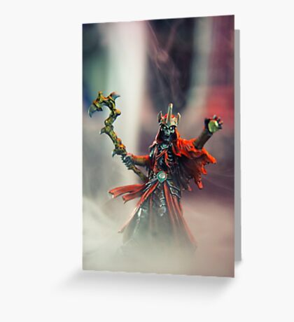 Lich - Reaper Miniatures Greeting Card
