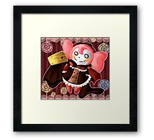 Dessert Witch Framed Print