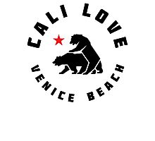 Cali Love - Venice Beach Photographic Print