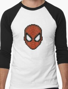 Spider-Man Pixel Men's Baseball ¾ T-Shirt