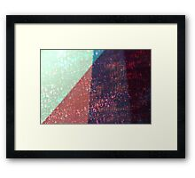 layers of color - one Framed Print