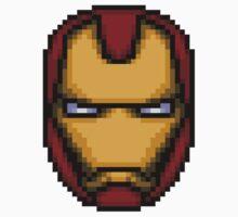Iron Man Pixel by bowksmon