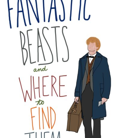 Fantastic Beasts and Where to Find Them Sticker