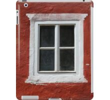 Red and White Window iPad Case/Skin