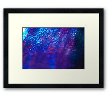 layers of color - two Framed Print