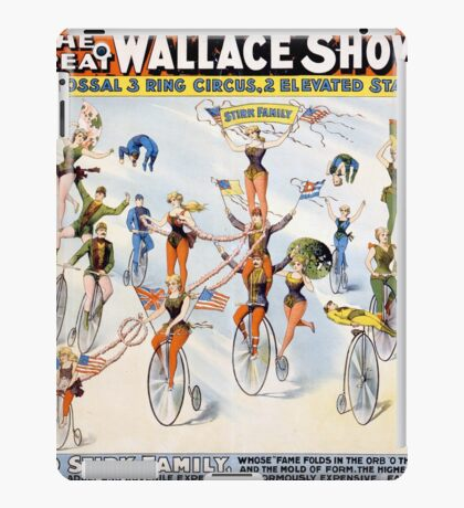 The Great Wallace Shows iPad Case/Skin