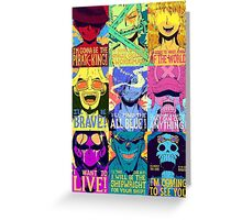 One piece Puzzle Greeting Card