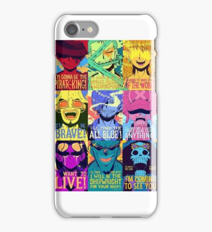 One piece Puzzle iPhone Case/Skin