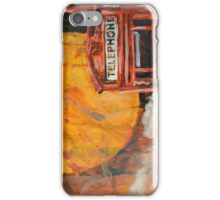 The Red Phone Box iPhone Case/Skin