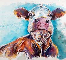 Optimistic Cow by Louise Fletcher